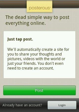 Cree fácilmente publicaciones de blog en movimiento con la aplicación posterosa de Android