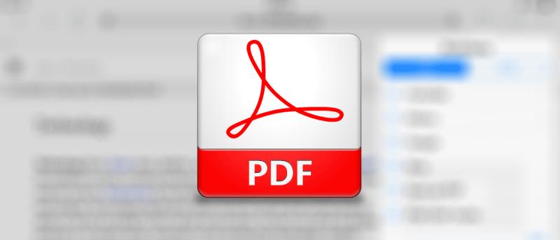 Guarde fácilmente la página web en PDF en su iPad