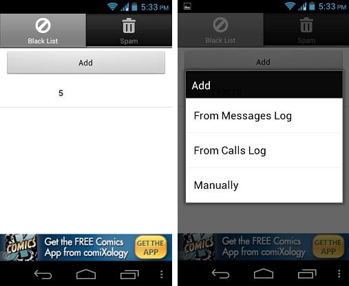 Filtro SMS: Bloquear mensajes de texto en Android
