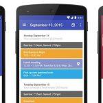 Cinco alternativas al calendario Sunrise para Android