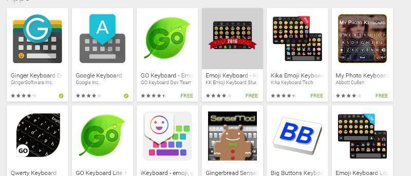 5 alternativas al teclado Swiftkey para Android