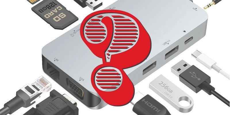 ¿Por qué no hay excelentes concentradores USB-C??