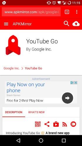 Cómo ver YouTube sin conexión en su teléfono Android