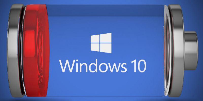 Cómo mejorar la duración de la batería de la computadora portátil en Windows 10